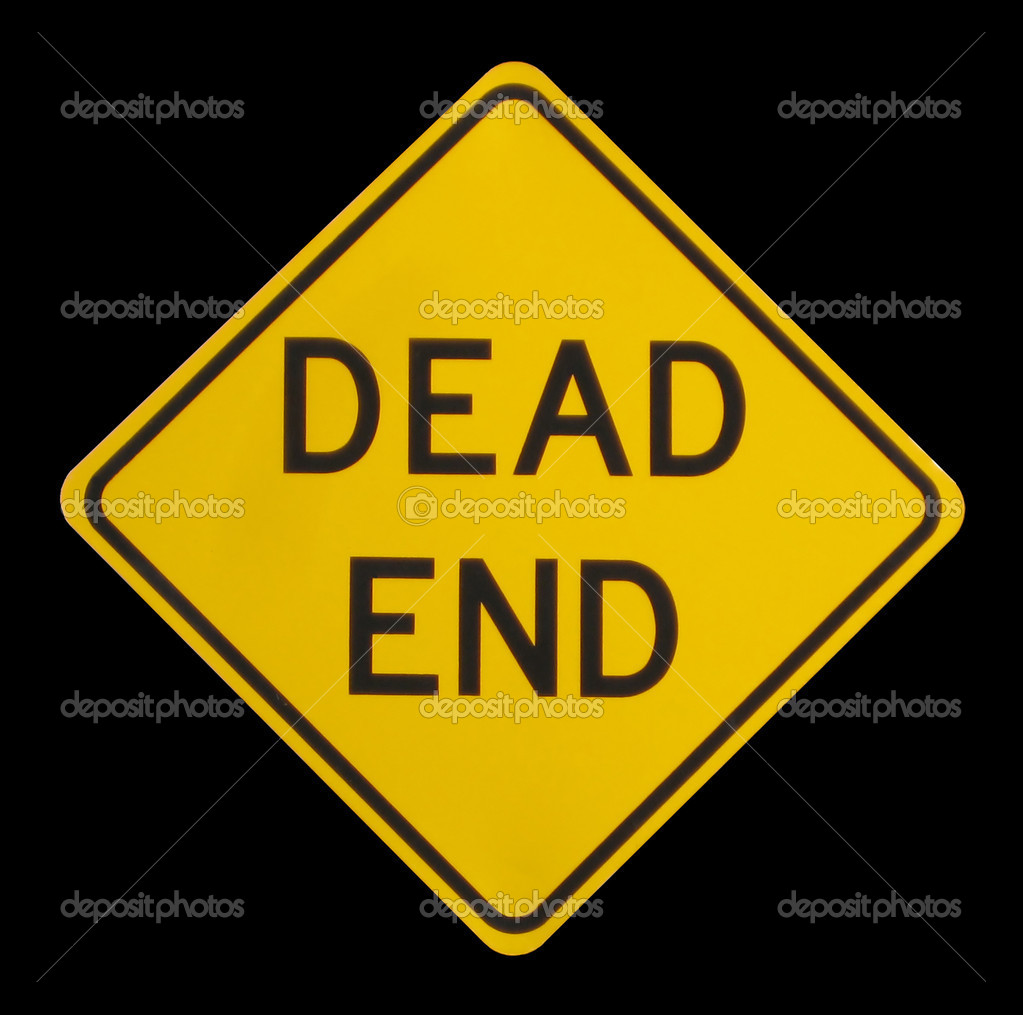A dead end street sign — Stock Photo #1385983