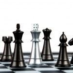 Chess tiles — Stock Photo #1307960
