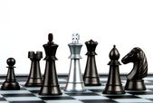 Chess tiles — Foto Stock
