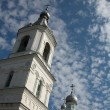 Stock Photo: Sky and belltower.