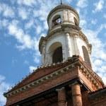 Belltower on restoration. — Stock Photo