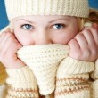 Stock Photo: Young girl with scarf