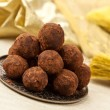 Chocolate truffles — Stock Photo #1342923