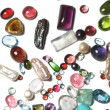 Semi-precious stones - Stock Photo