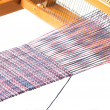 Stock Photo: Weaving project