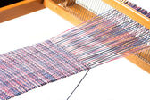 Weaving project — Stock Photo