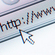 Internet address - Stock Photo