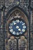 Old tower clock — Stockfoto