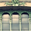 green fairy facade — Stock Photo
