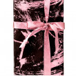 Wrapped romantic gift — Stock Photo