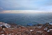 Winter sea — Стоковое фото