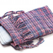 Handwoven Tarot bag — Stock Photo