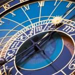Astronomical clock — Stock Photo #2454690