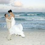 Caribbean Beach Wedding — Stock Photo