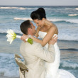 Caribbean Beach Wedding — Stockfoto