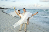 Caribbean Beach Wedding — Stock Photo