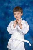 Little White Belt — Stock Photo