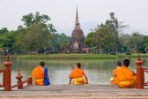 Mnich učni — Stock fotografie