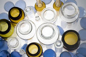 Top view of pharmaceutical vials — Stock Photo
