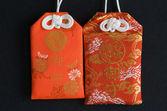 Japanese amulet — Stock Photo