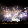 Firework celebration Redentore — Stock Photo #1406238