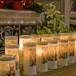 Church candle — Stock Photo
