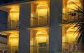 Hotel terrace — Stock Photo