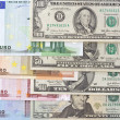 Stock Photo: International currency