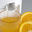 Orange squeezer — Stock Photo