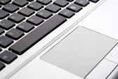 Laptop touchpad — Stock Photo