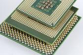 Computer micro processor — Stock Photo