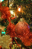 Christmas ball and decoration — Stock Photo