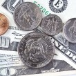 USA dollars background — Stock Photo