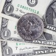 Stock Photo: One dollar