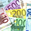 Euro Background — Stock Photo