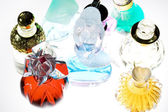 Colored perfume — Stock Photo