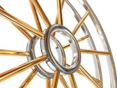 Structure of a wheel. — Stock Photo