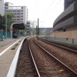 Rail and station — Stock Photo #1352542