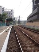Bahn und bahnhof — Stockfoto