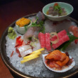 Sashimi platter — Stock Photo