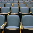 Stock Photo: Chairs in lecture hall