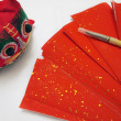 Stock Photo: Spring Couplets for Chinese New Year