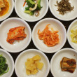 Stock Photo: Appetizers in Korecuisine