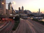 Evening scenery in Hong Kong — Stock Photo