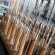 Stock Photo: Test tubes on rack