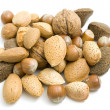 Stock Photo: Handful of nuts