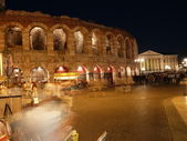 Verona by night — Stock Photo