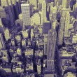 Manhattan Skyline in Duotone — Stock Photo #1518697