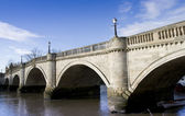 Richmond Bridge in Winter — Stock Photo