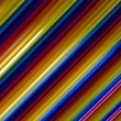 Rainbow neon lines - Stock Photo